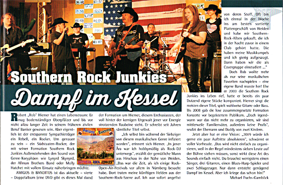 CD-Review The Southern Rock Junkies